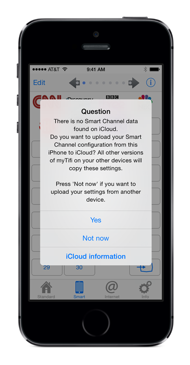 iCloud-No-Smart-Channels-found